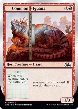 (Common   Iguana):Unsanctioned