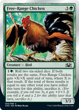 (Free-Range Chicken):Unsanctioned