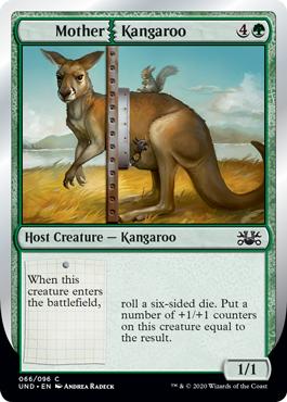 (Mother   Kangaroo):Unsanctioned