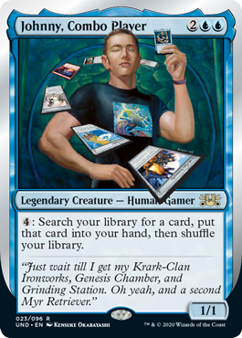 (Johnny, Combo Player):Unsanctioned