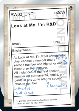 (Look at Me, I'm R&D):Unsanctioned