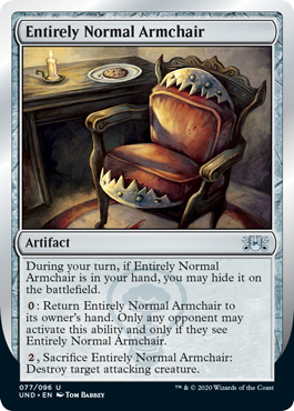(Entirely Normal Armchair):Unsanctioned
