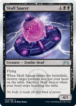 (Skull Saucer):Unsanctioned