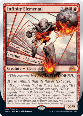 (Infinity Elemental):Unsanctioned