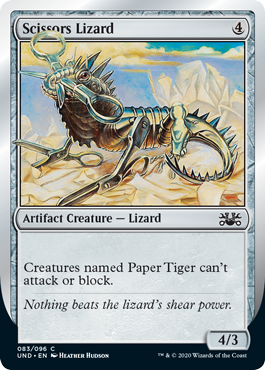 (Scissors Lizard):Unsanctioned