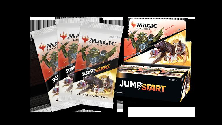 MTG「JUMPSTART」が発表!1パックに各テーマに沿った20枚のカードが封入!発売日は2020年7月3日!