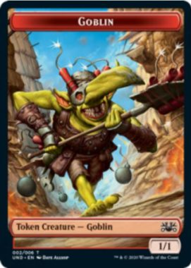 Goblin(ゴブリン)トークン:MTG「Unsanctioned」収録