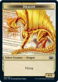 Dragon(ドラゴン)トークン:MTG「Unsanctioned」収録