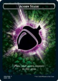 Acorn Stash(ドングリ)トークン:MTG「Unsanctioned」収録