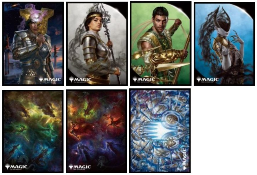 【スリーブ】エンスカイ「プレイヤーズカードスリーブ」のラインナップに「テーロス還魂記」の7種が追加!2020年4月17日に発売!