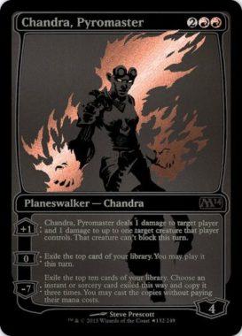 コミコンプロモ版《Chandra, Pyromaster》