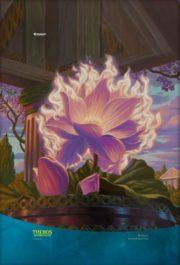 【アート】ニクスの睡蓮(テーロス還魂記)のイラストスマホ壁紙