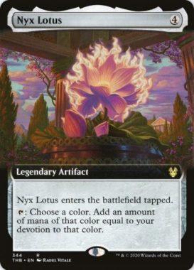 Nyx Lotus(拡張アート版)テーロス還魂記