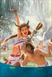 【アート】終わりなき踊りのガリア(テーロス還魂記)スマホ壁紙