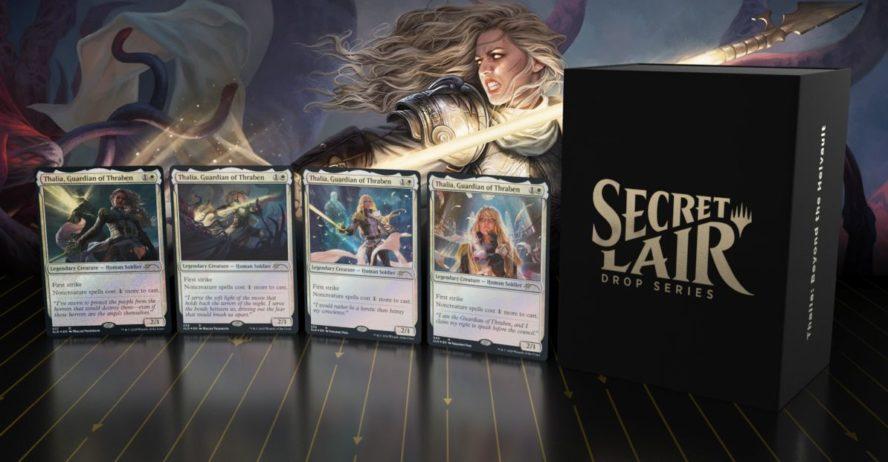 【Secret Lair】4種の《スレイベンの守護者、サリア/Thalia, Guardian of Thraben》が封入される「Secret Lair」が発売!?非公式スポイラーに情報が掲載!※公式でも発売が発表!