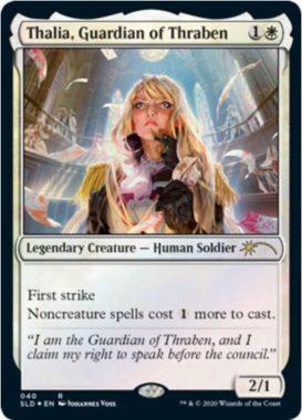 スレイベンの守護者、サリア パラレル4(MTG「Secret Lair」収録)