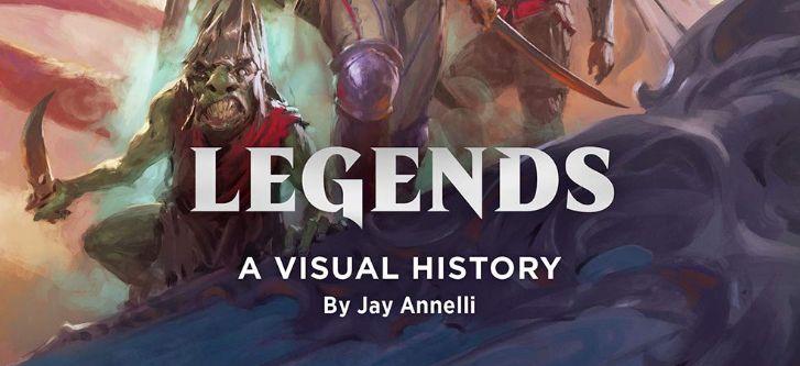 【Legends: A Visual History】MTGの「伝説」をテーマにしたアートブックが2020年夏に発売決定!