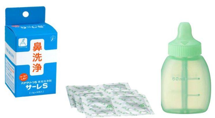 《ハナノア》×《サーレS》の鼻洗浄コンボが花粉症対策に最強!