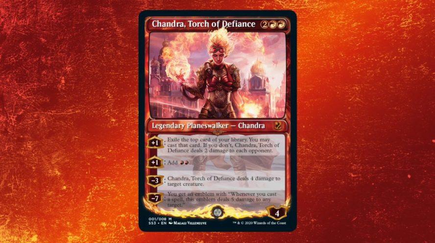 MTG「Signature Spellbook: Chandra」が発表!チャンドラ関連の8種のカード&1枚のFOILが封入!