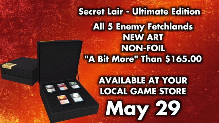 Secret Lair Ultimate Edition(対抗色フェッチランド)