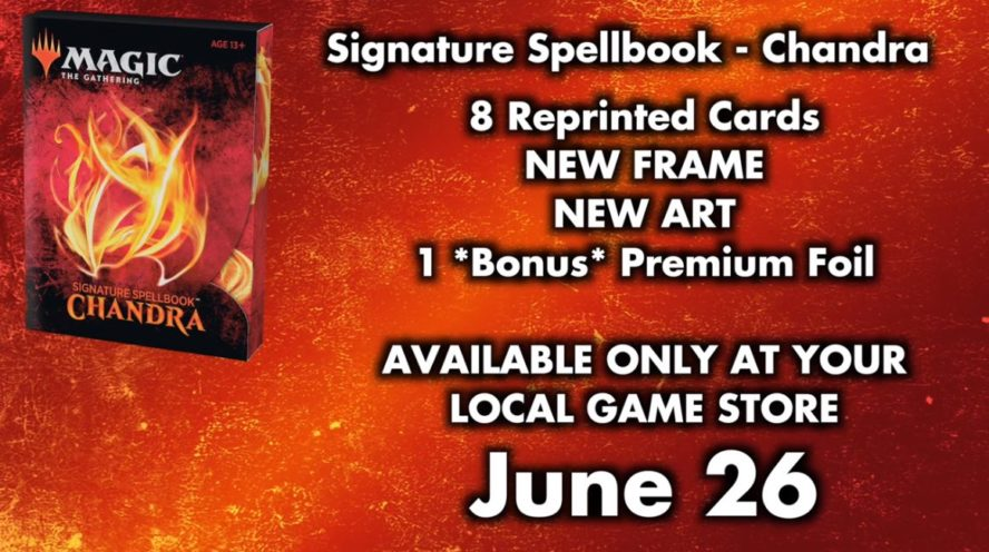 MTG「Signature Spellbook: Chandra」製品情報
