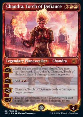 反逆の先導者、チャンドラ(Signature Spellbook版/既存カード)