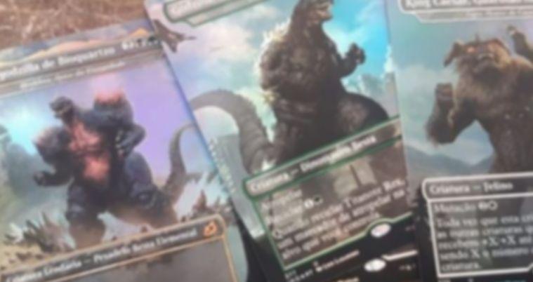 【フェイク?】イコリアの非公式スポイラーに「ゴジラ/Godzilla」のイラストが描かれたMTGカードが掲載!