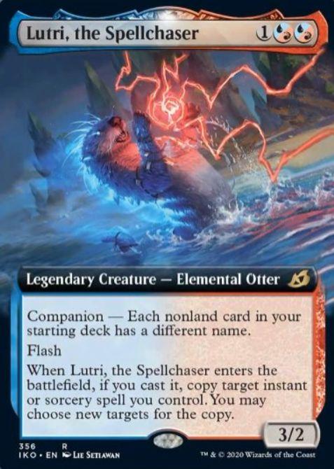 Lutri, the Spellchaser(イコリア:巨獣の棲処)