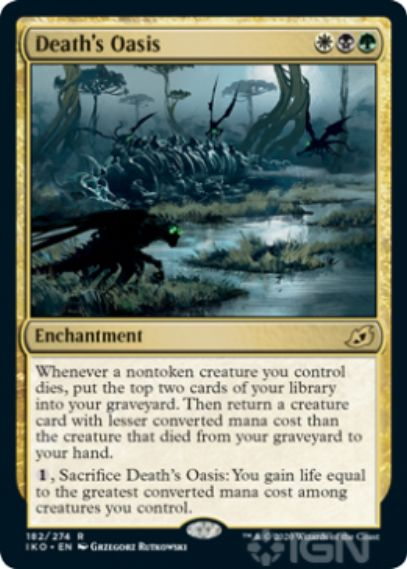 Death's Oasis(イコリア:巨獣の棲処)