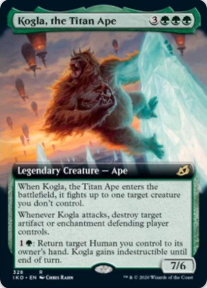 Kogla, the Titan Ape(イコリア:巨獣の棲処)
