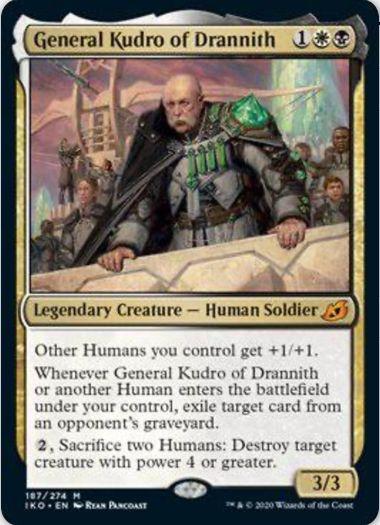 General Kudro of Drannith(イコリア:巨獣の棲処)