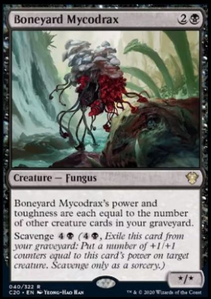 Boneyard Mycodrax(統率者2020)イコリア:巨獣の棲処
