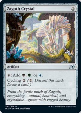 Zagoth Crystal(イコリア:巨獣の棲処)