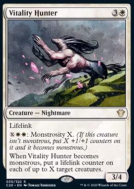 (Vitality Hunter):統率者2020(イコリア統率者デッキ)収録