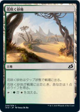 花咲く砂地(Blossoming Sands)