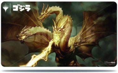 宇宙の帝王、キングギドラ:イコリア「ゴジラシリーズ」プレイマット
