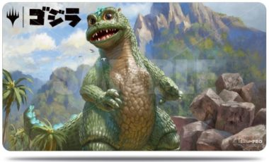 新たなる災厄、ベビーゴジラ:イコリア「ゴジラシリーズ」プレイマット