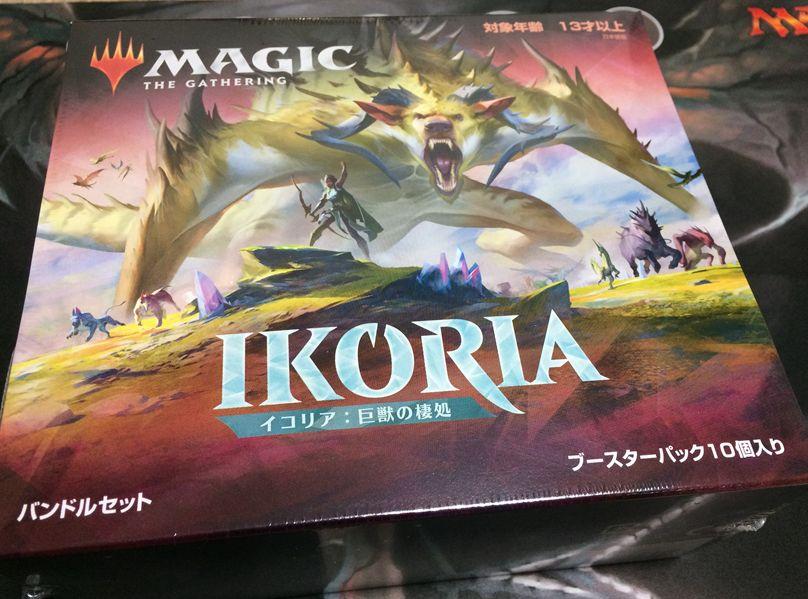 イコリア:巨獣の棲処「Bundle(バンドル)」の日本語版を開封!封入物を紹介!