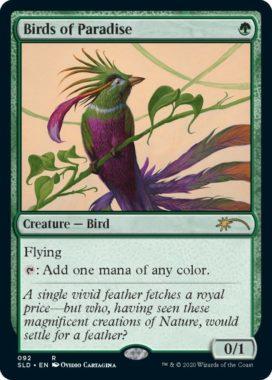 《極楽鳥/Birds of Paradise》(Secret Lair/過去弾版)