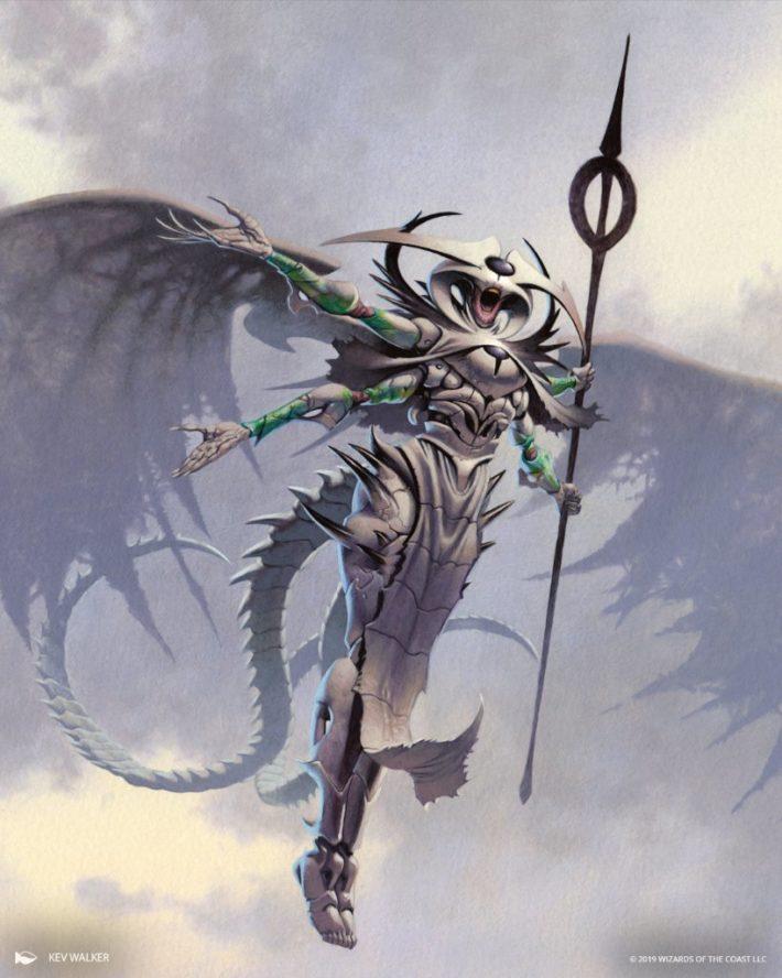 Atraxa, Praetors' Voice(法務官の声、アトラクサ) - Kev Walker氏