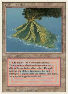 [R] : Volcanic Island