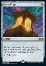 魔力の墓所(Mana Crypt)ダブルマスターズ