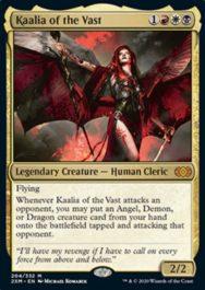 巨大なるカーリア(Kaalia of the Vast)ダブルマスターズ