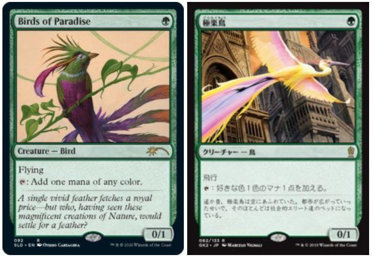 【Birds】MTG「Secret Lair」の新製品「Birds」が情報公開!5種の鳥関連カードが収録!