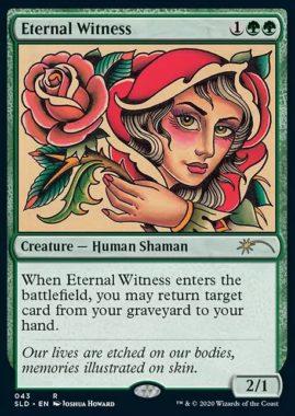 《永遠の証人/Eternal Witness》:Secret Lair/過去セット版