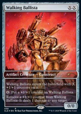 《歩行バリスタ/Walking Ballista》:Secret Lair/過去セット版