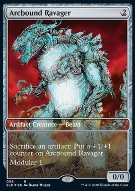 《電結の荒廃者/Arcbound Ravager》:Secret Lair/過去セット版