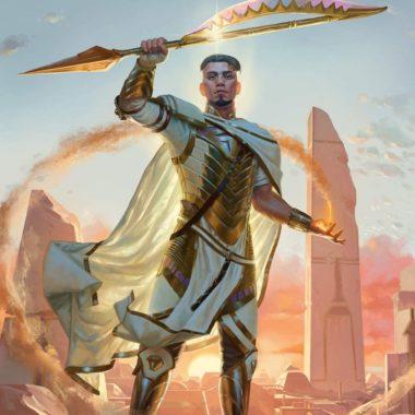 アート:献身の聖騎士、バスリ(Basri, Devoted Paladin)