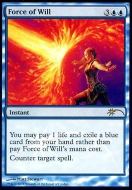 [R] : 【FOIL】Force of Will