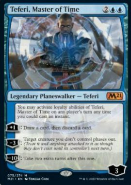 Teferi, Master of Time(基本セット2021)